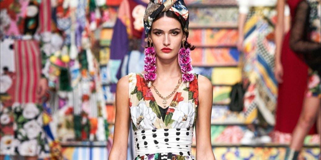 ქართველი მოდელი მილანში Dolce&Gabbana ჩვენებაზე გამოვიდა