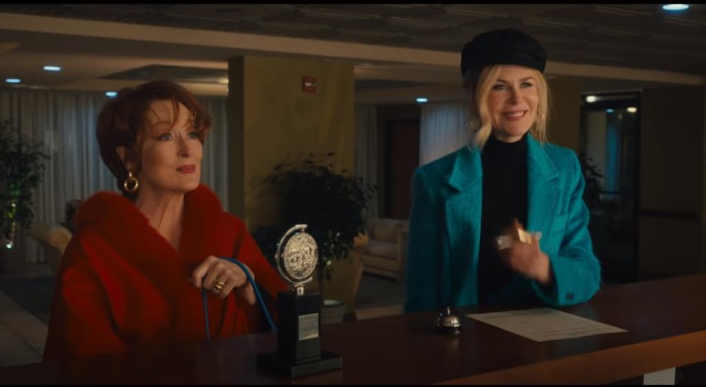 მერილ სტრიპი და ნიკოლ კიდმანი ნეტფლიქსის ახალ ფილმში ითამაშებენ (video)