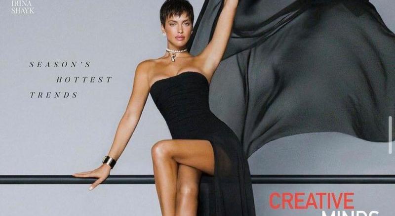 ირინა შეიკი Vogue Thailand-ის 2021 წლის მარტის ნომრის ყდაზე